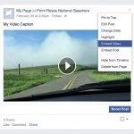 Embedded Videos from Facebook