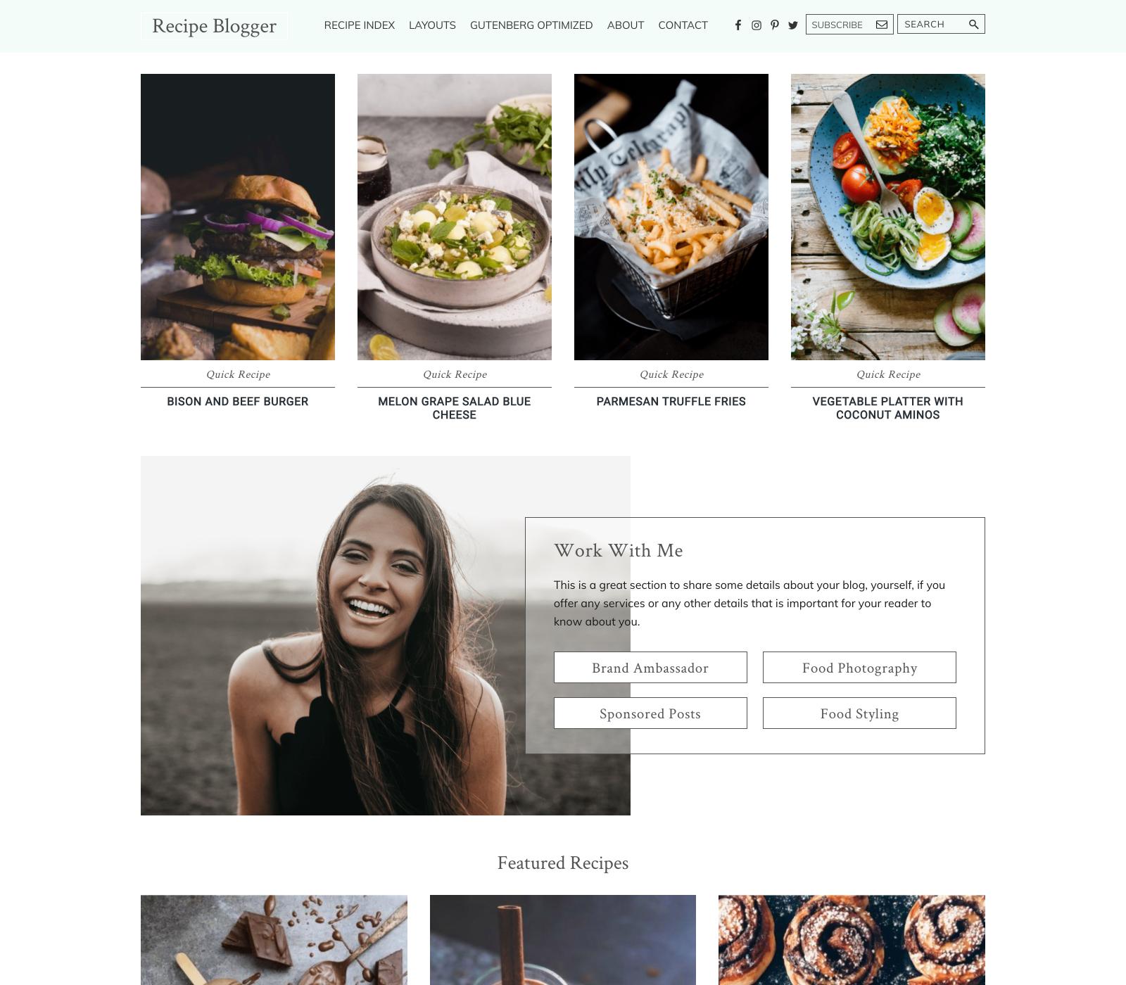 recipe-blogger